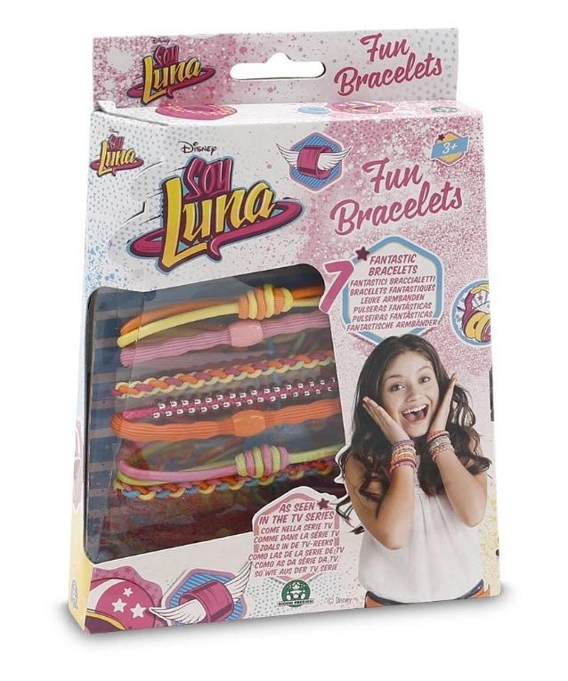 Soy Luna - Pack de pulseras