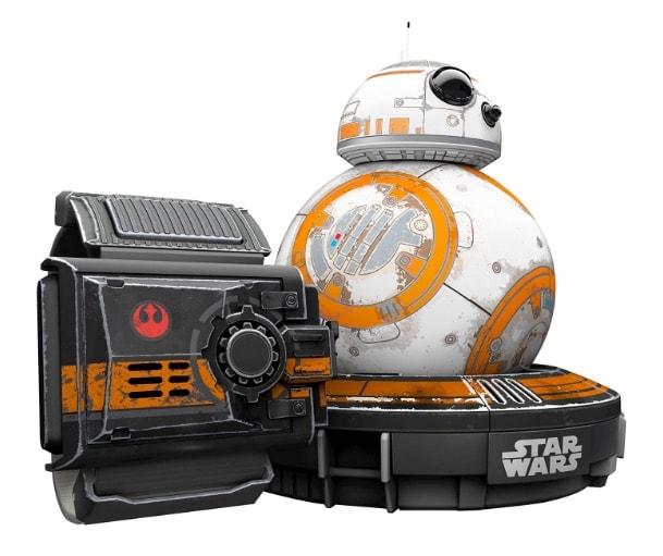 Star Wars - Droide BB-8 Battle Worn con Force Band (unos 216 euros)