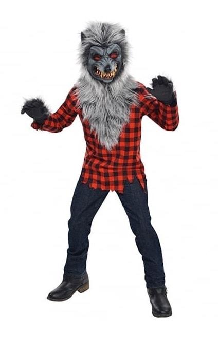 Disfraz hombre lobo para niños