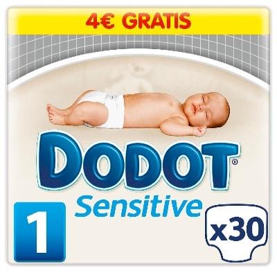 Dónde comprar los pañales para bebés más baratos: Dodot Sensitive