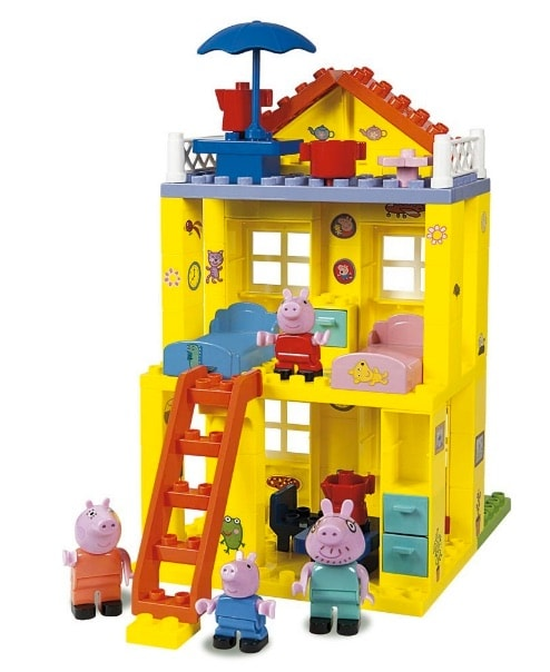 Peppa Pig - La Nueva Casa, juego de construcción