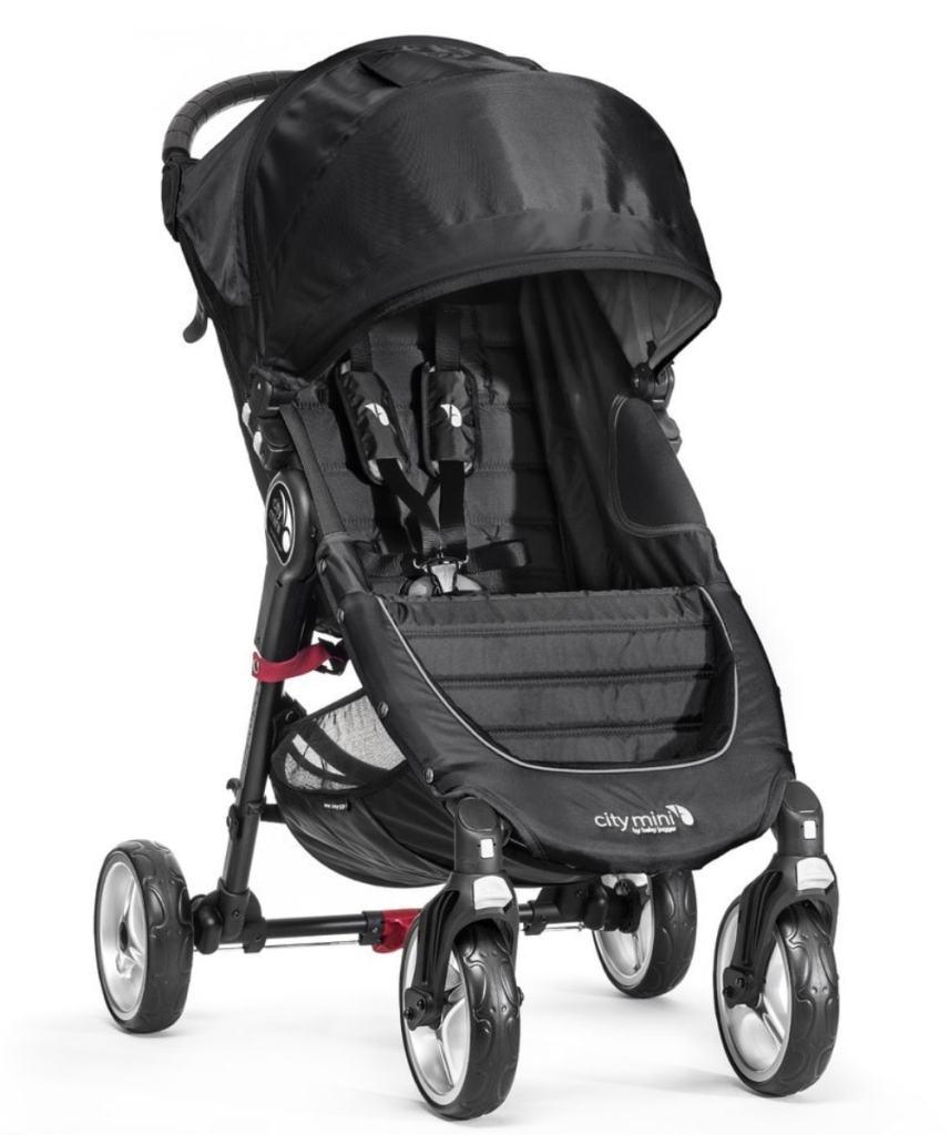 Baby Jogger City Mini 4 - Silla de paseo, color negro