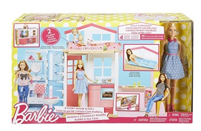 OfertaBarbie - Muñeca y su casa
