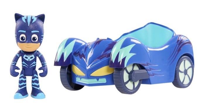 PJ Masks - Vehículos Gatauto y Gatuno (Bandai 24576)