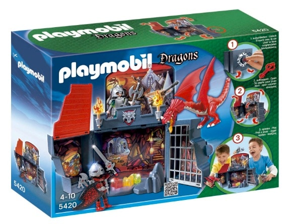 Playmobil Dragones - Cofre guarida del dragón (5420)