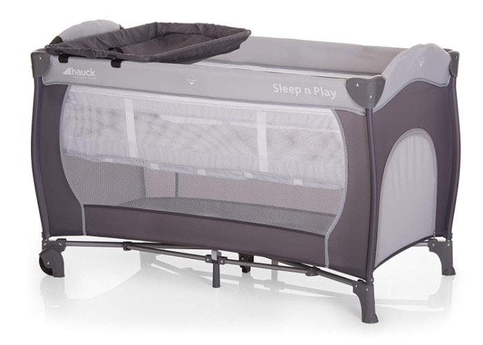 Hauck Sleep N Play Center - Cuna de viaje con ruedas para bebes de 0 meses hasta 15 kg