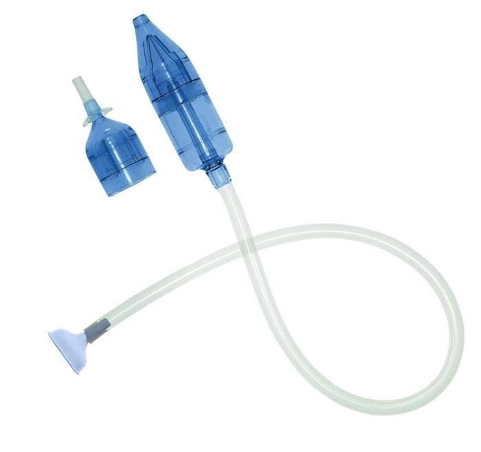 Béaba 920311 - Aspirador nasal para bebés, aspiración manual