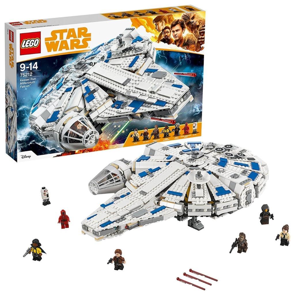 Los mejores juguetes LEGO Star Wars que puedes comprar: LEGO Star Wars Halcón Milenario del corredor de Kessel