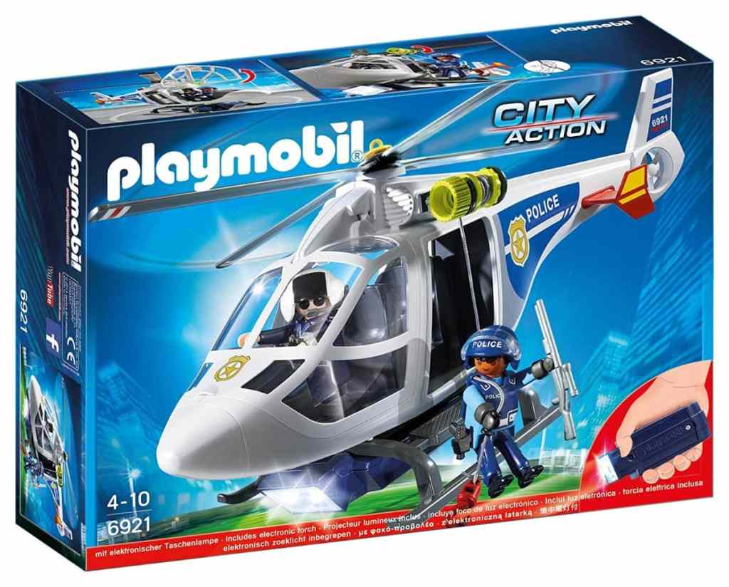 Playmobil 6921 - Helicóptero de la policía