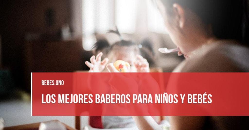 Los mejores baberos para niños y bebés