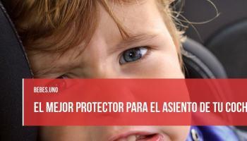El mejor protector para el asiento de tu coche: la silla del bebé no va a estropear la tapicería