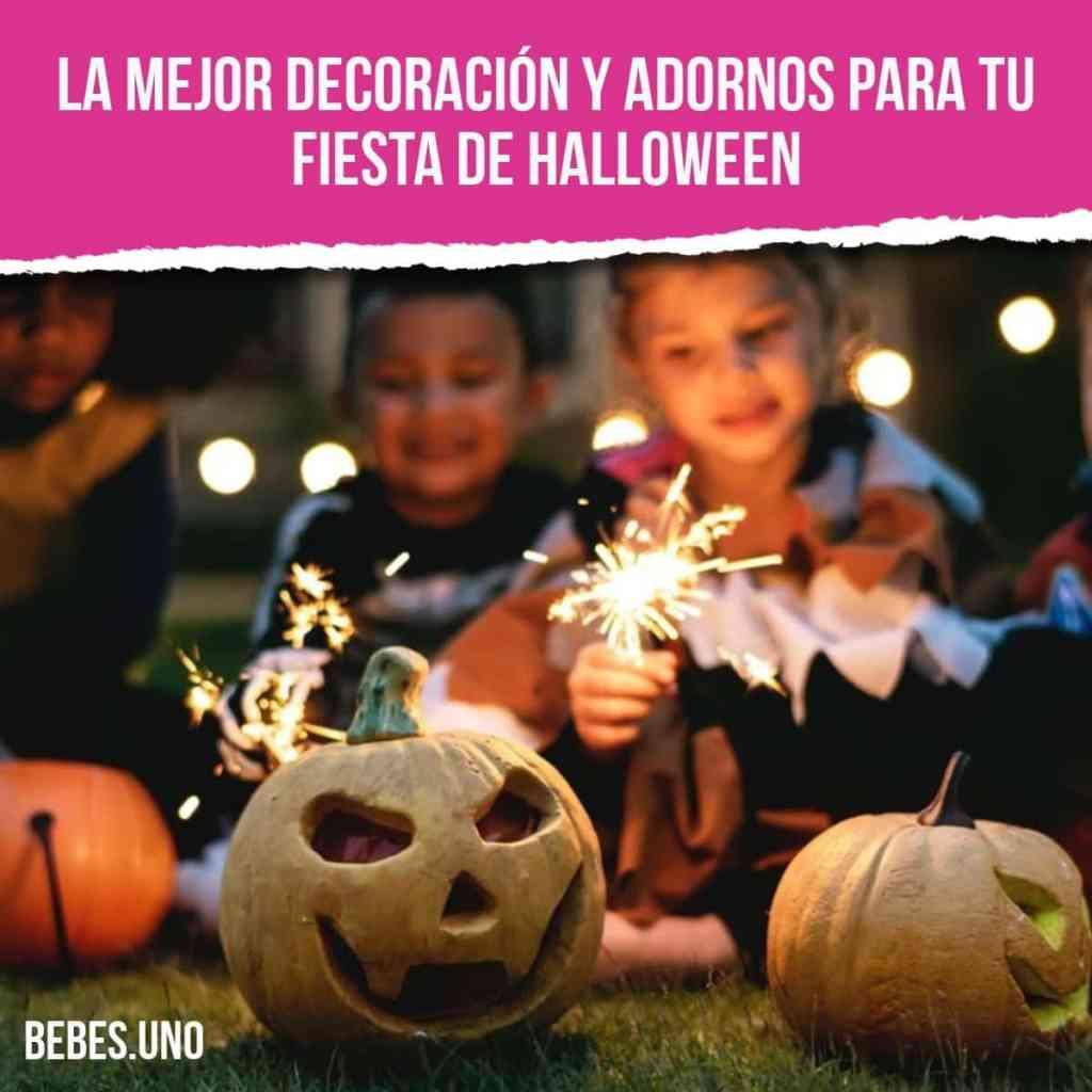 La mejor decoración y adornos para tu fiesta de Halloween
