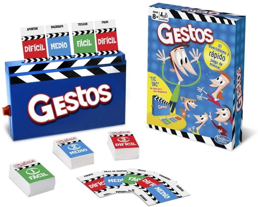 Juego de mesa Gestos de Hasbro