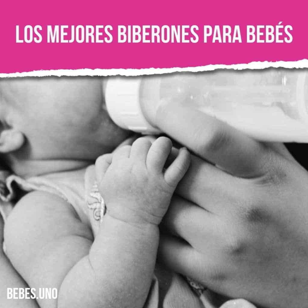 Los mejores biberones para bebés