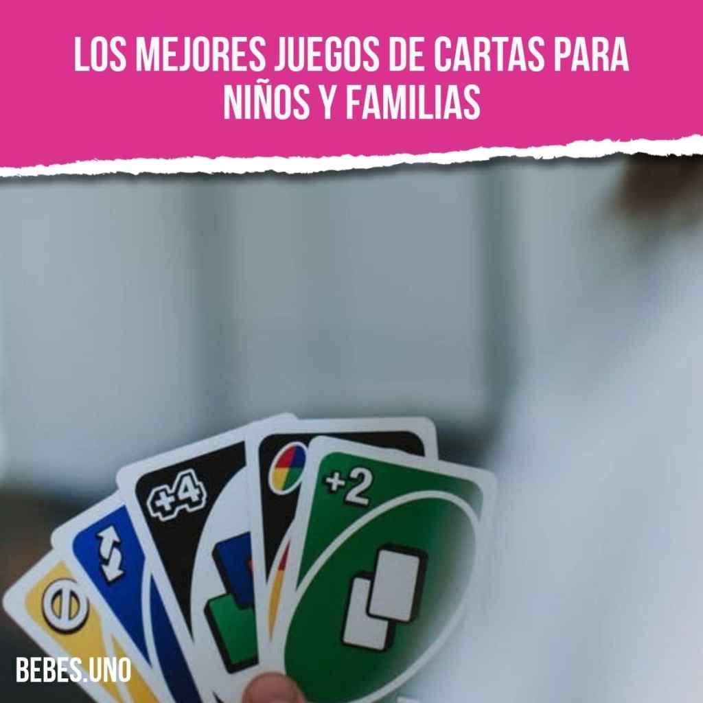 Los 10 mejores juegos de cartas para niños y familias