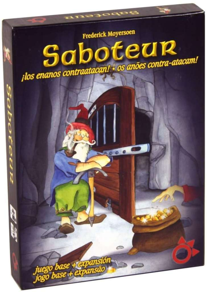 Saboteur (juego con expansión)