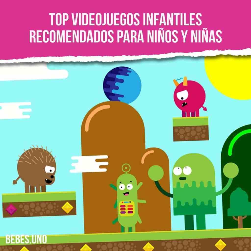Top 20 videojuegos infantiles recomendados para niños y niñas - PS4, Xbox, Nintendo, PC, Android, iOS