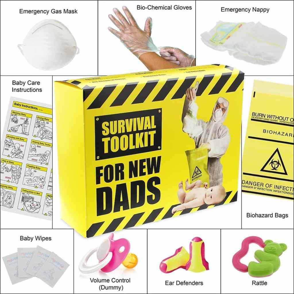 Kit de supervivencia para nuevos papás