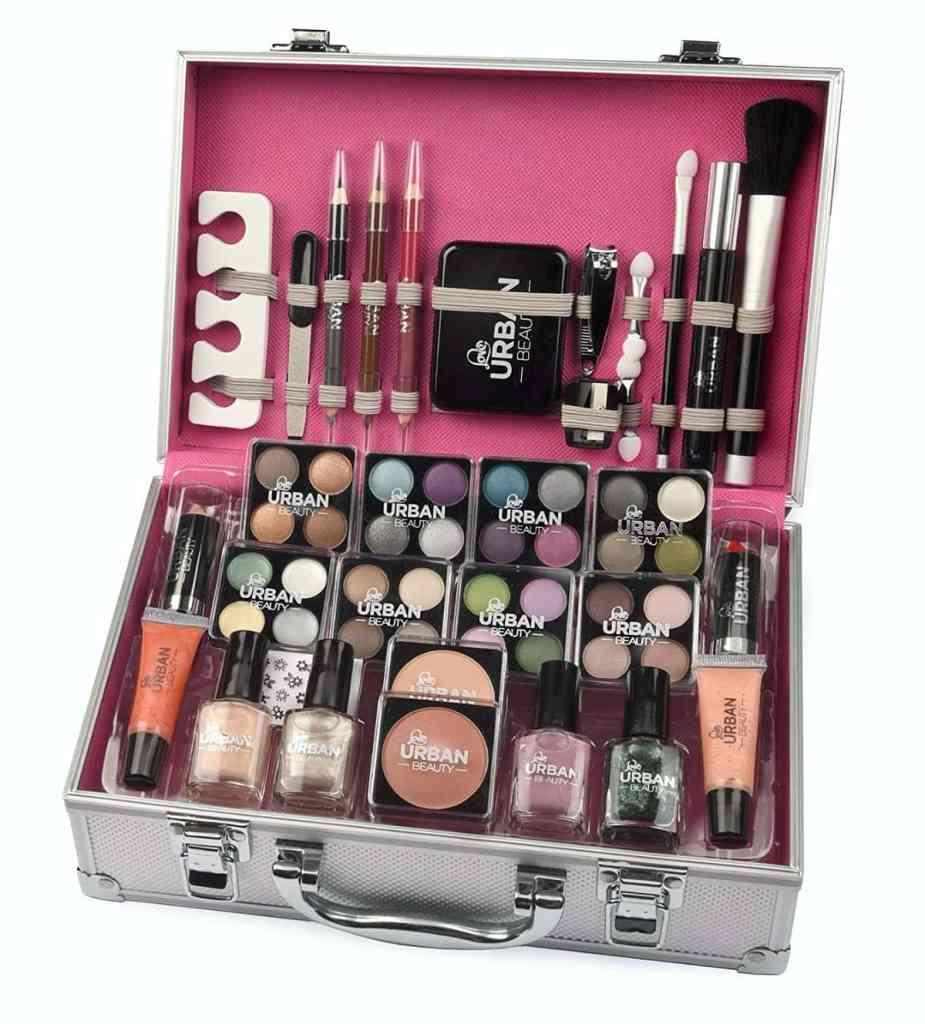 Maletín de maquillaje Urban Beauty, 60 productos