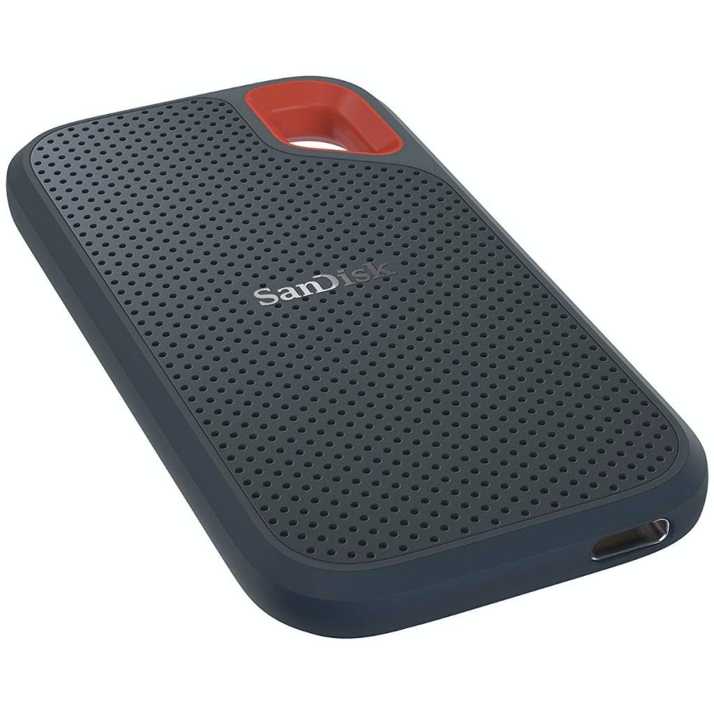 SanDisk Extreme - Portable SSD (500 GB, hasta 550 MB/s de Velocidad de Lectura)