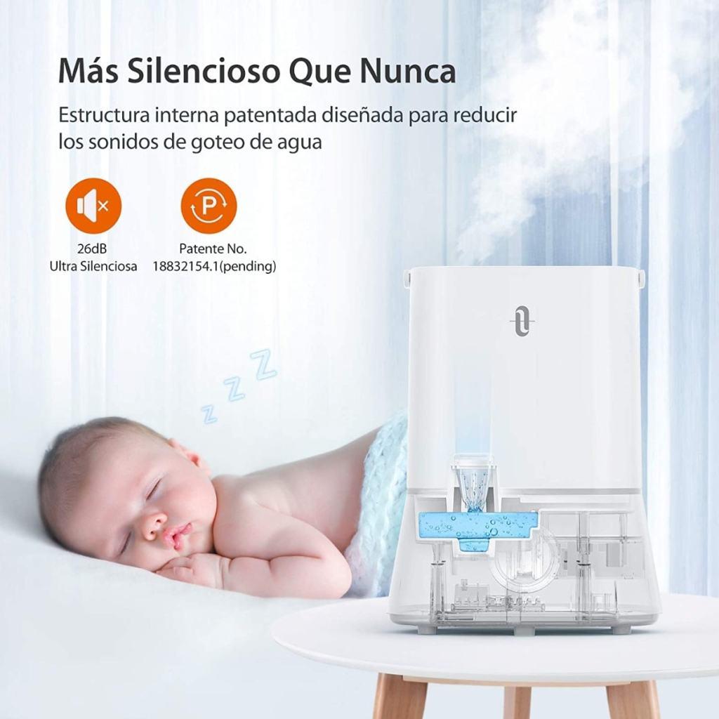 Humidificador de TaoTronics para bebé de 4 litros (ultrasónico)