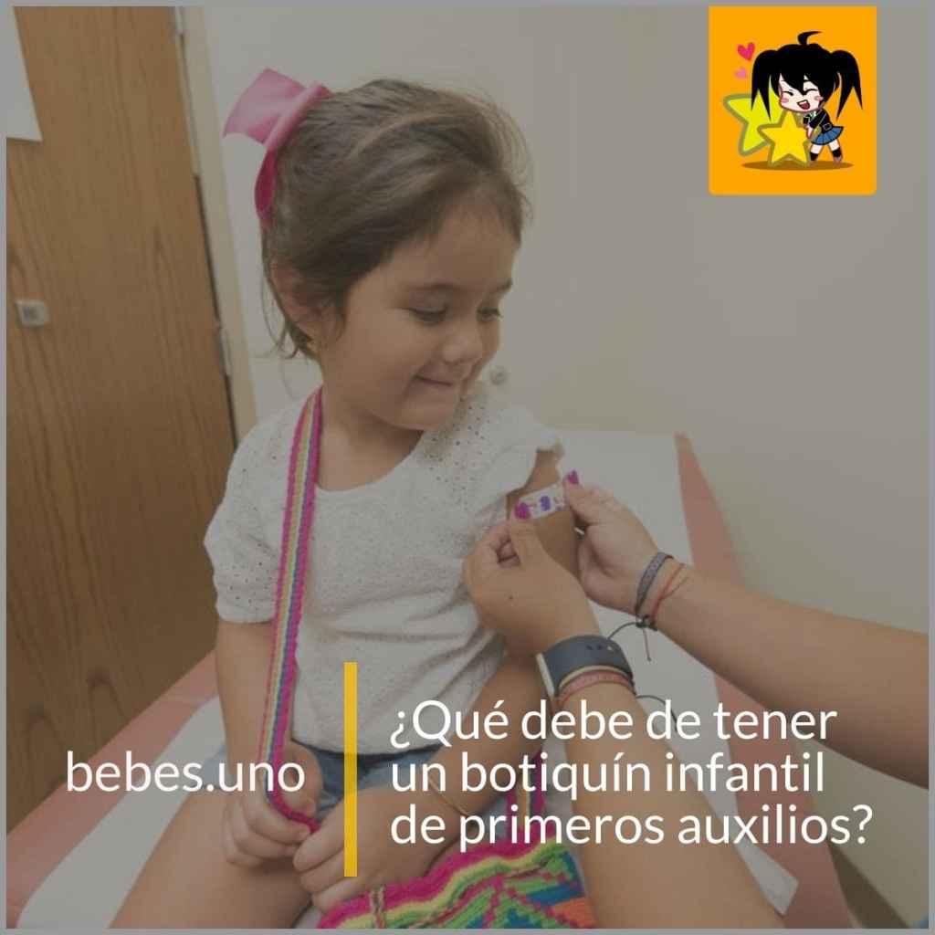 ¿Qué debe de tener un botiquín infantil de primeros auxilios?
