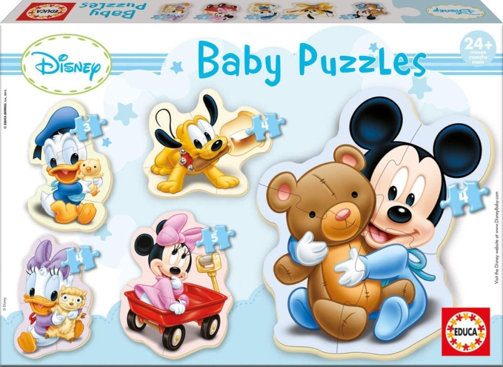Baby Puzzles, puzzle infantil Baby Mickey