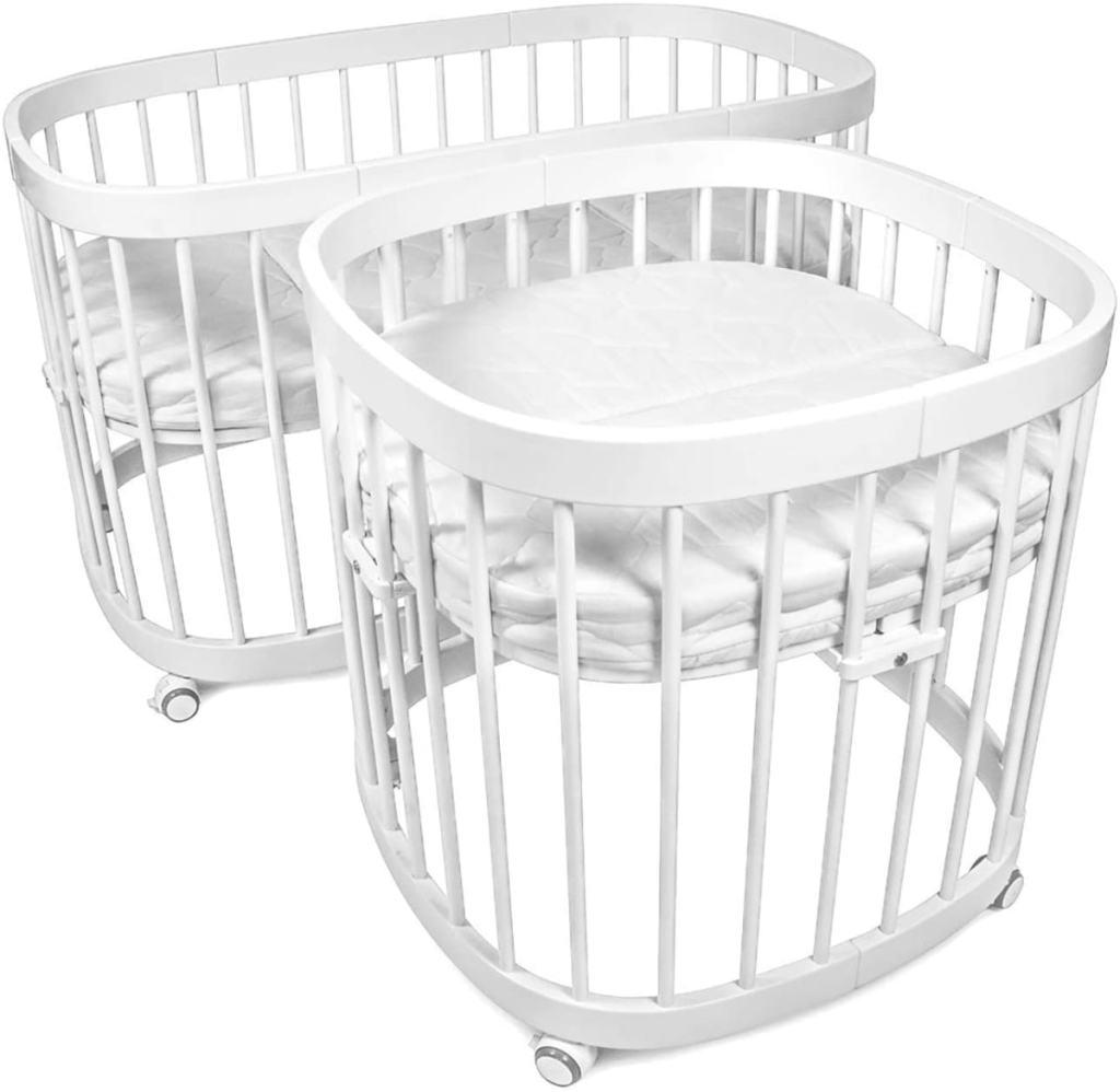 Cuna redonda que recomendamos: Cuna para bebé 7 en 1 de Tweeto