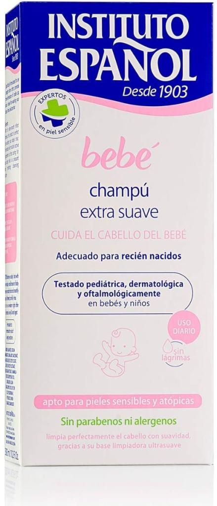 Instituto Español - Champú Extra Suave para bebé - 300 ml