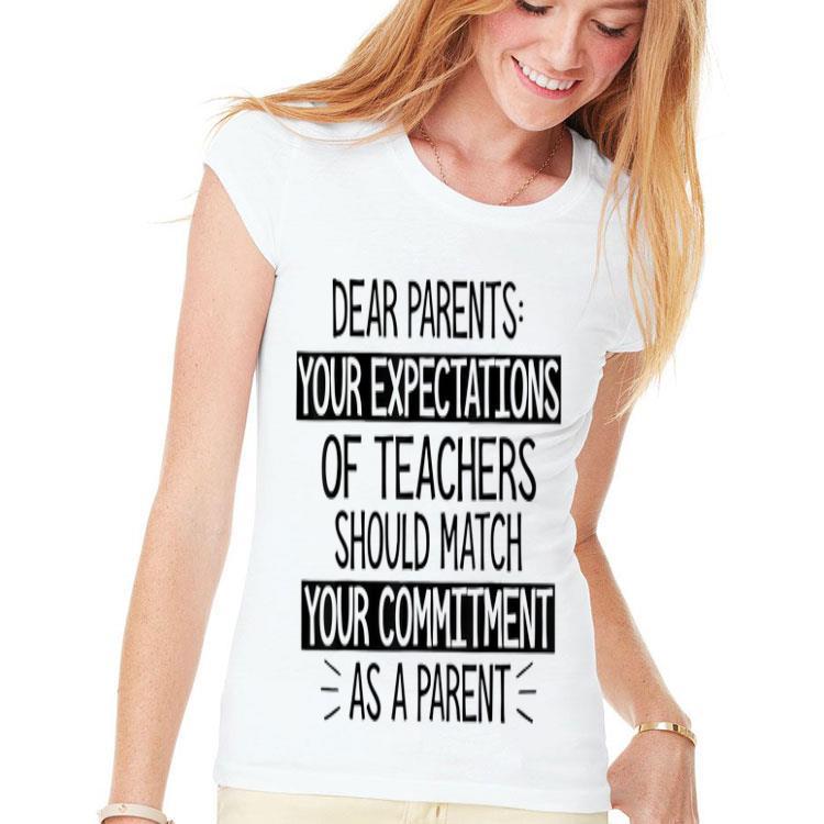 Download Dear Parents Your Expectations Of Teachers Should Match ...