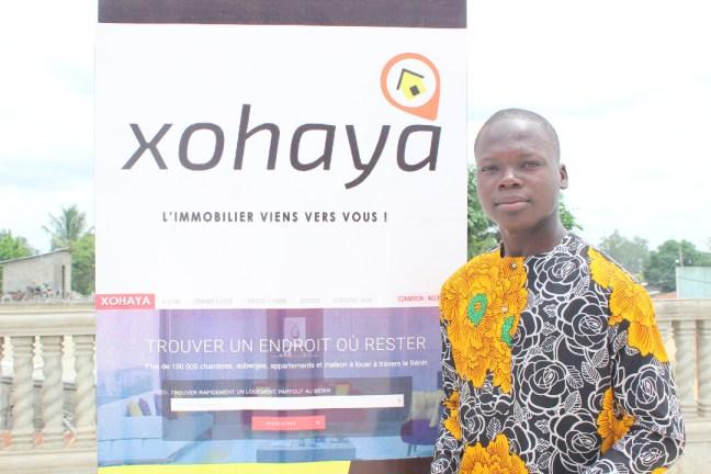 Conaide (rédacteur beblog) au meet up de xohaya