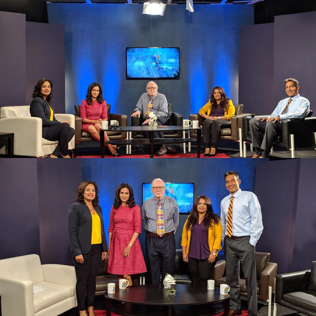 September 20, 2018: New Jersey, USA | TV Asia Center Stage | Expert Panelist on Workforce Gender Diversity and Women's Career Specialist