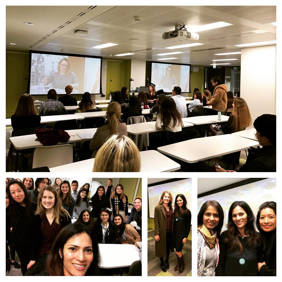 March 7, 2019, London, UK | Talk and Q&A with KCLBC | From Goldman to Entrepreneurship
