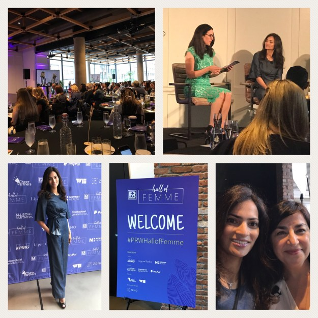 June 5, 2019: New York, USA | The Comeback Trail Panel Discussion | PRWeek Hall of Femme