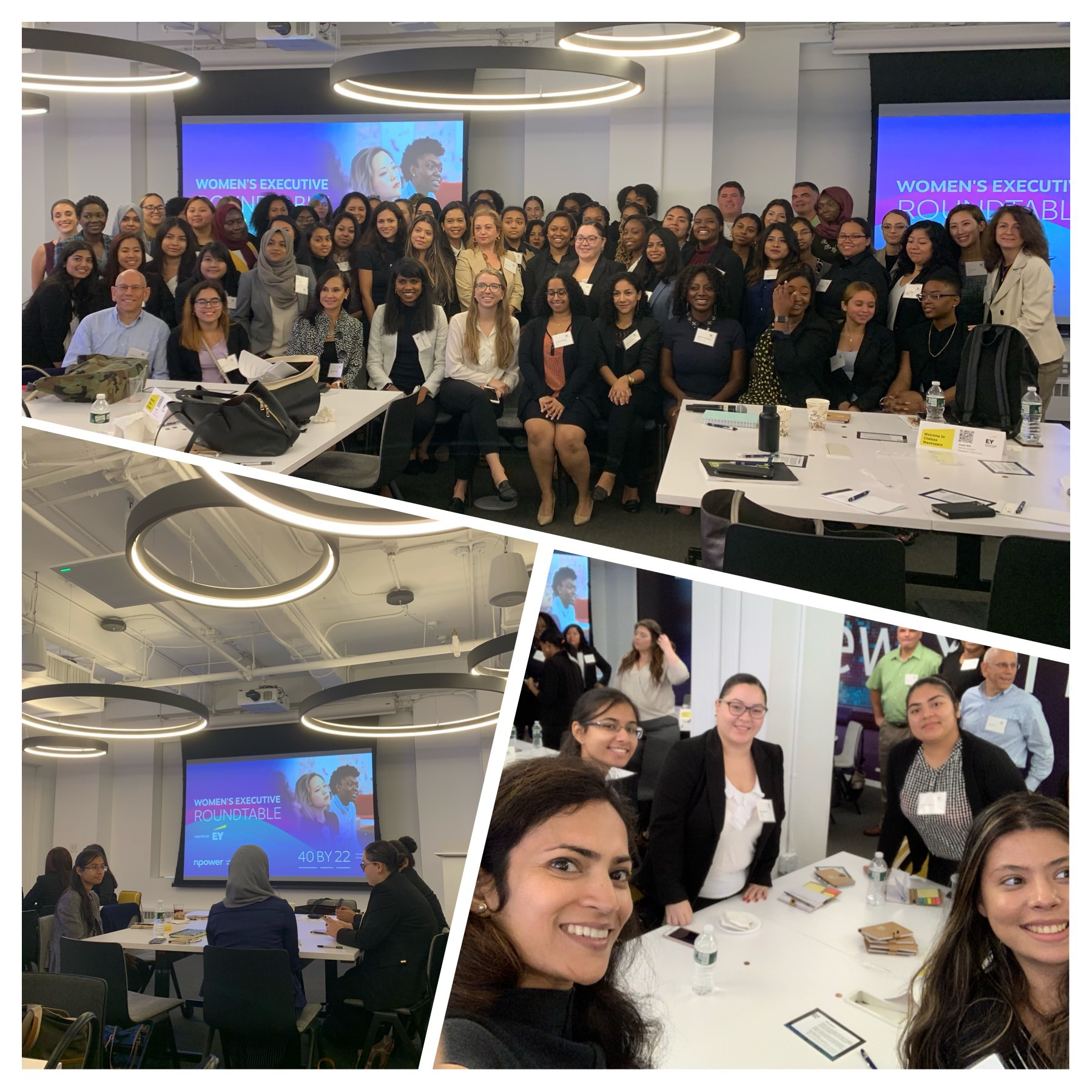 September 23, 2019: New York, USA | NPower Exec Women in Tech Roundtable | EY Wavespace