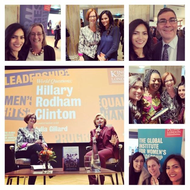 November 13, 2019: London, UK | Global Institute of Women's Leadership | Hillary Clinton and Julia Gillard