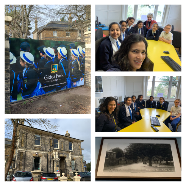 March 9, 2020: London, UK | Talk to Form V and VI schoolgirls | Gidea Park College