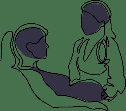 line-pregnant-woman2