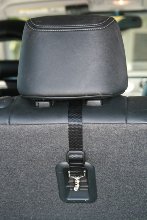 Secure Fit Pet Safety System - back seat anchor