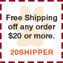 free shipping of order $20 or more