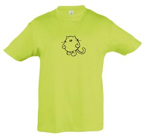 REGENT 11970 – Camiseta niño cuello redondo