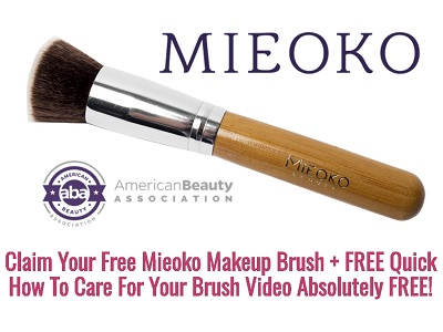 Free Mieoko Makeup Brush