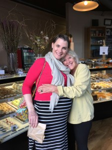 A trip to the bakery with my daughter-in-law