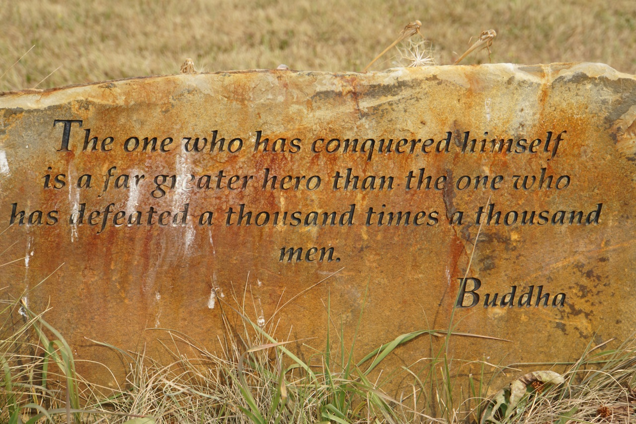 September 5 part 1 garden of one thousand buddhas be brave traveler Garden of one thousand buddhas