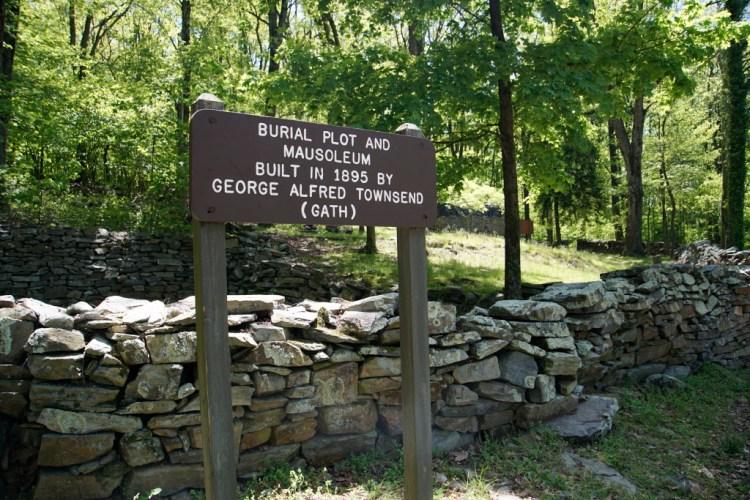 Gathland State Park - Mausoleum