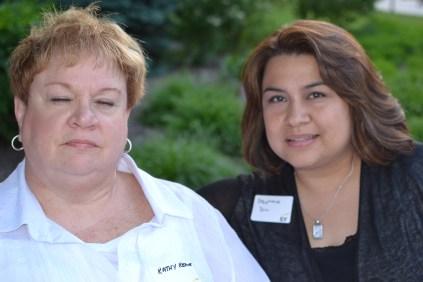 Kathy and Stephanie