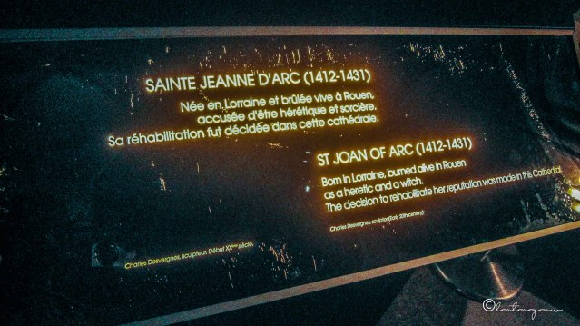 saint joan d'arc notre dame cathedral paris france