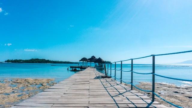 the hut walkway maldives uraya resort island garden city of samal