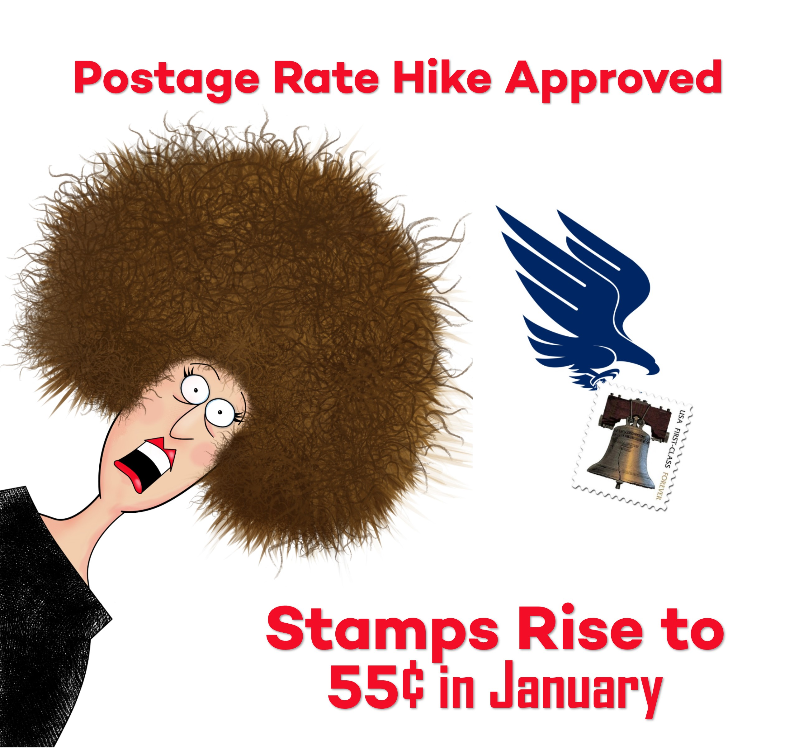 postal rate hike approved