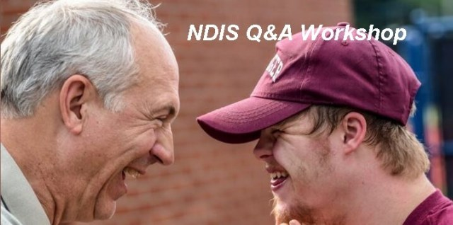 Albury - NDIS Q&A Workshop for Families and Providers